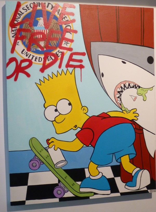 Bart and Shark