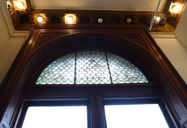 Arched Window Detail