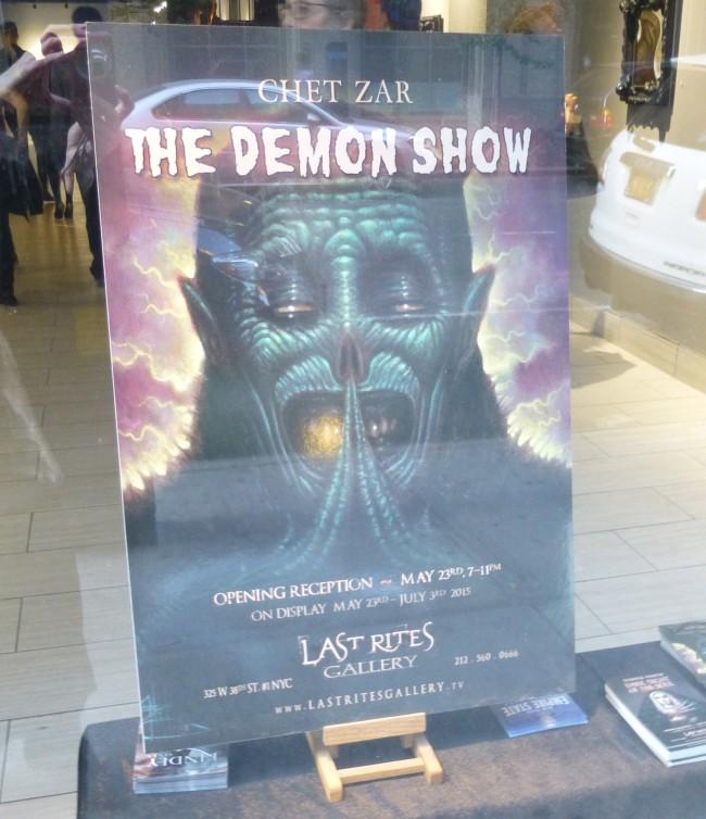 Demon Show Signage
