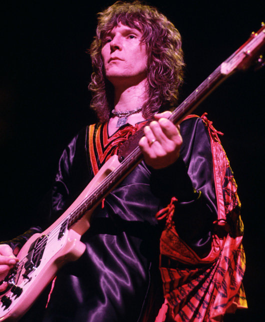 Chris Squire With Bass