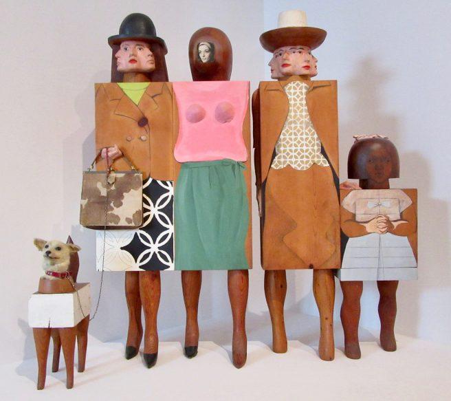 Marisol Women and Dog