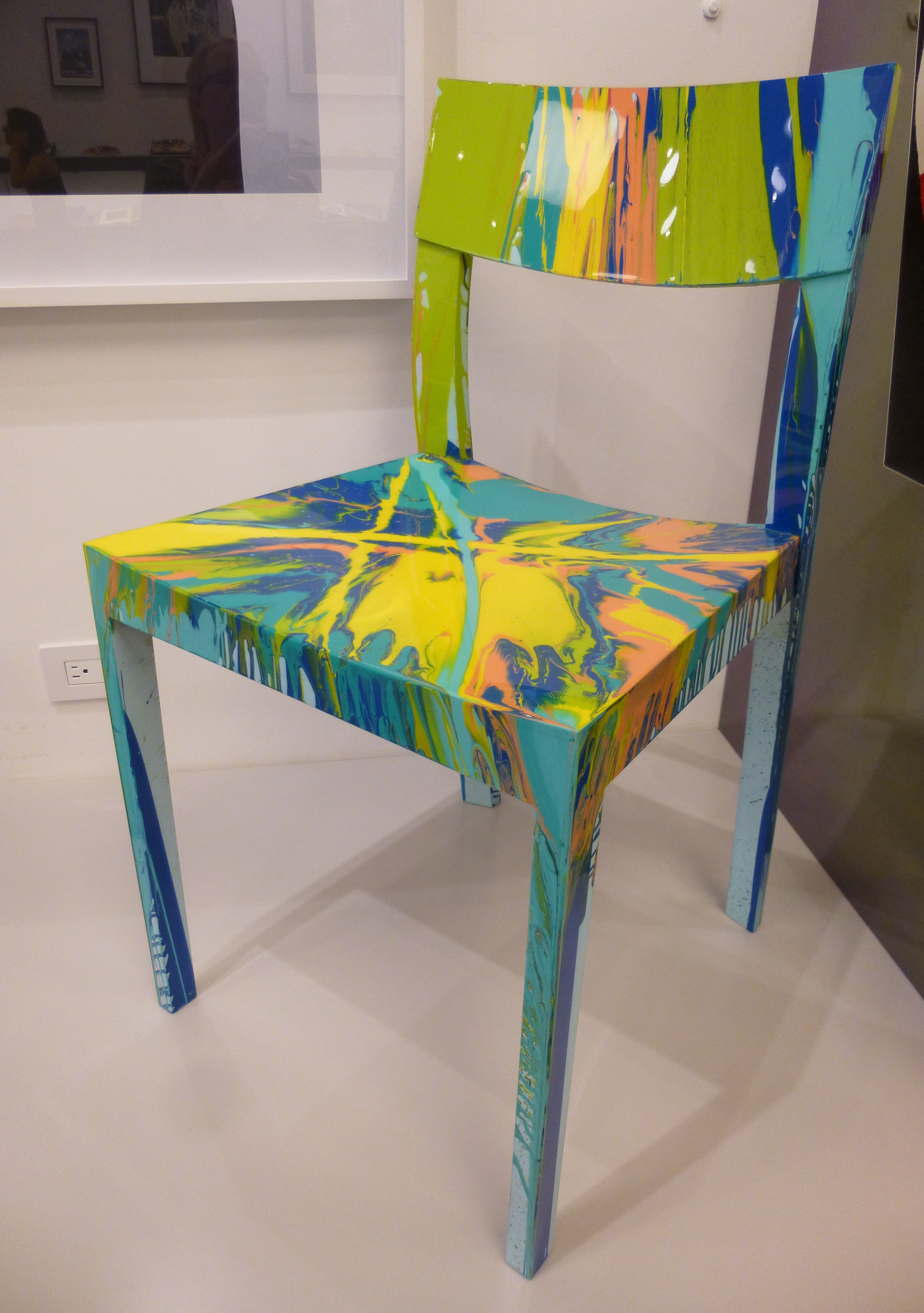 Damien Hirst Spin Chair