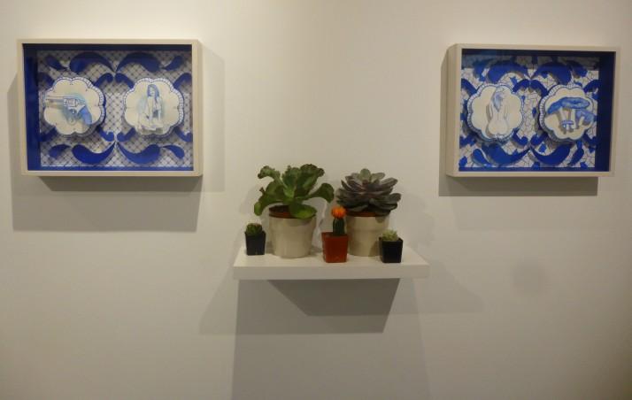 Eduardo Sarabia Dioramas and Cactuses