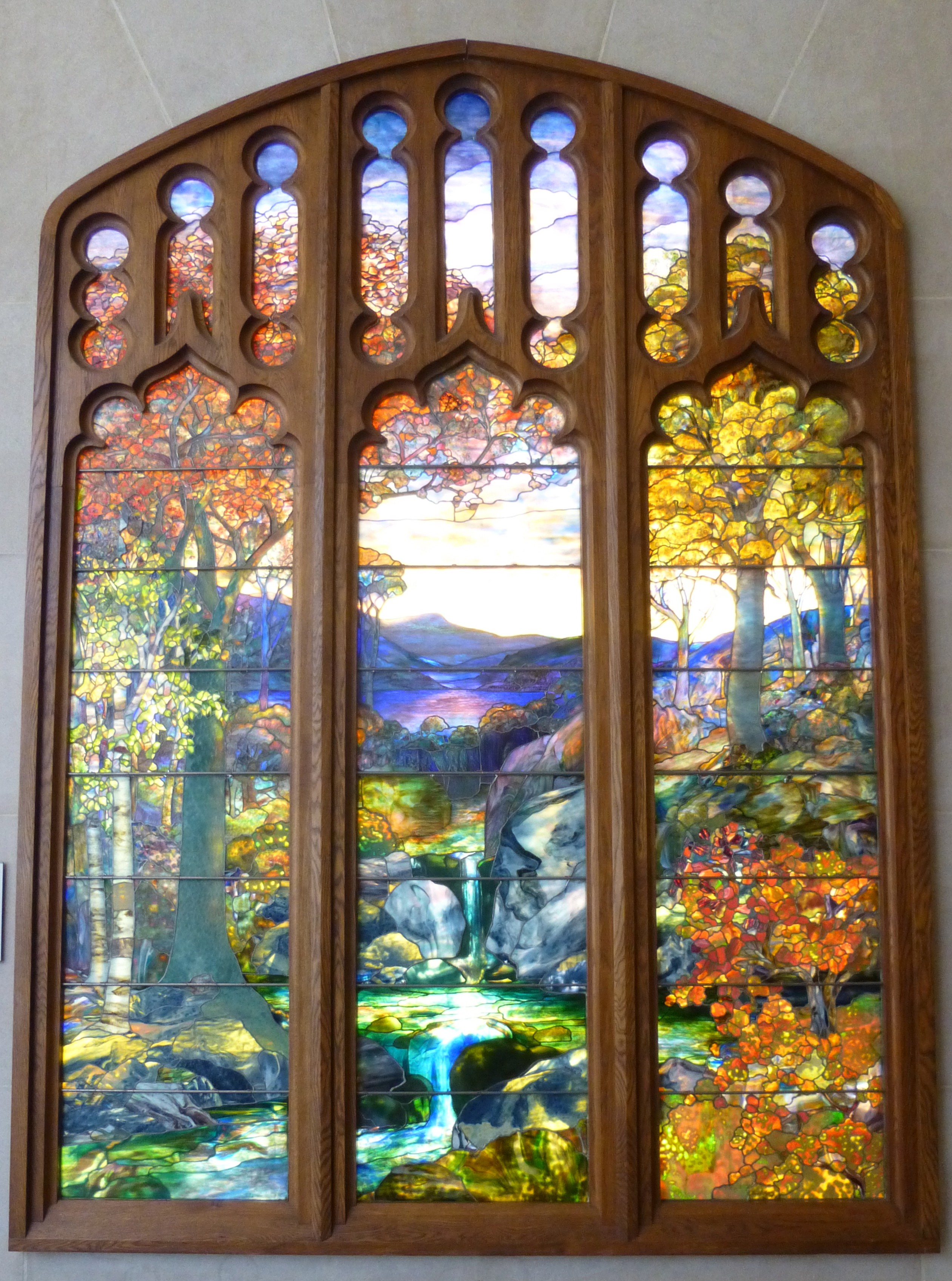 Tiffany Stained Glass : June the worley gig page
