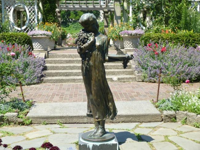 Cranford Rose Garden Statue