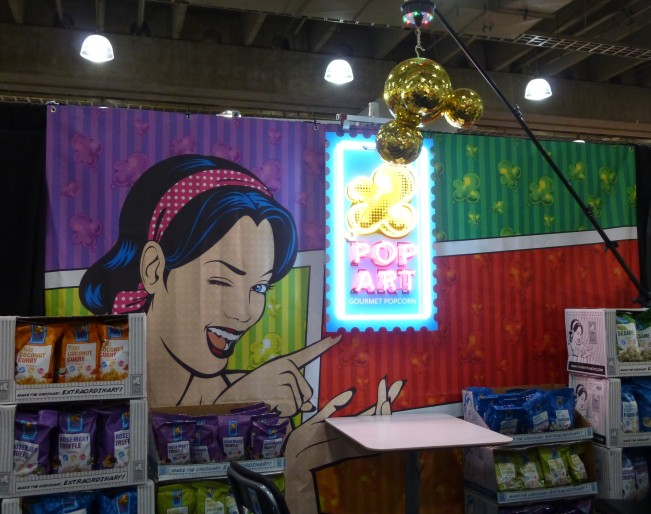 Pop Art Popcorn Booth