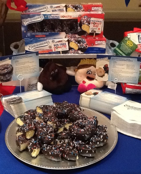 Entenmanns Sprinkled Donut Display