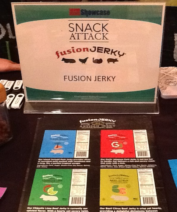 Fusion Jerky Booth Display