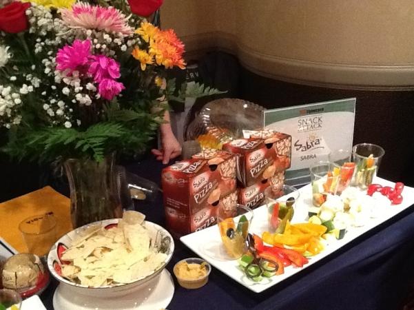Sabre Hummus Booth