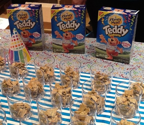 Birthday Party Teddy Grahams