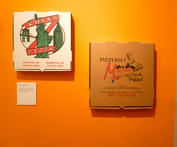 NYC Inspired Pizza Boxes