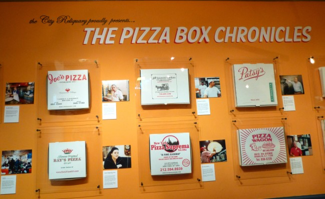 Pizza Box Chronicles Exhibit