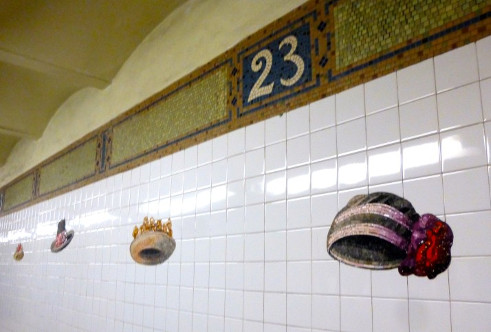 Subway Hats View