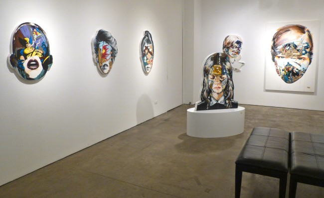 Sandra Chevrier Installation View