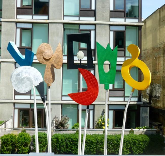 Charlie Hewitt Urban Rattle Sculpture