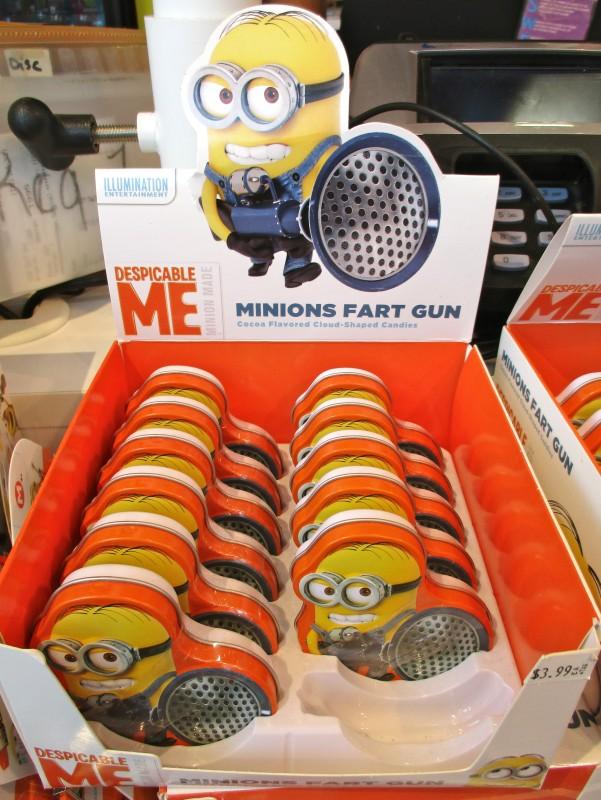 Minions Fart Gun