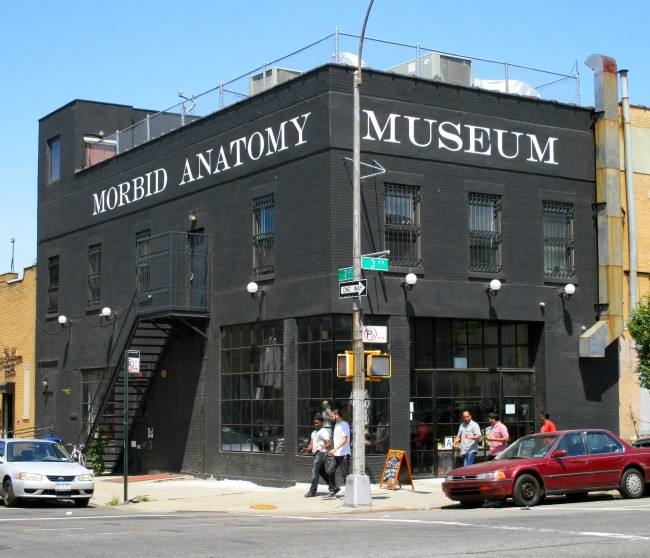 Morbid Anatomy Museum Building