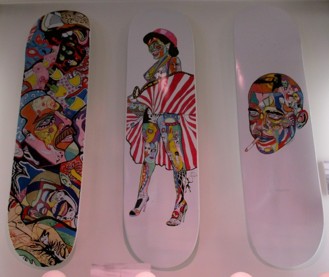 Skate Decks by Cacho Falcon