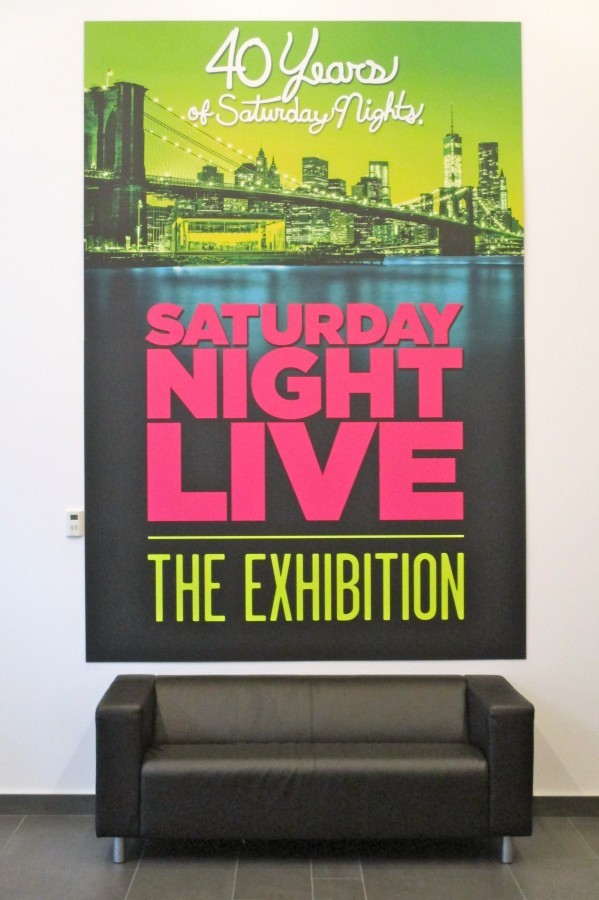 SNL The Exhibition Signage