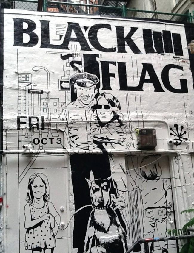 Black Flag Mural