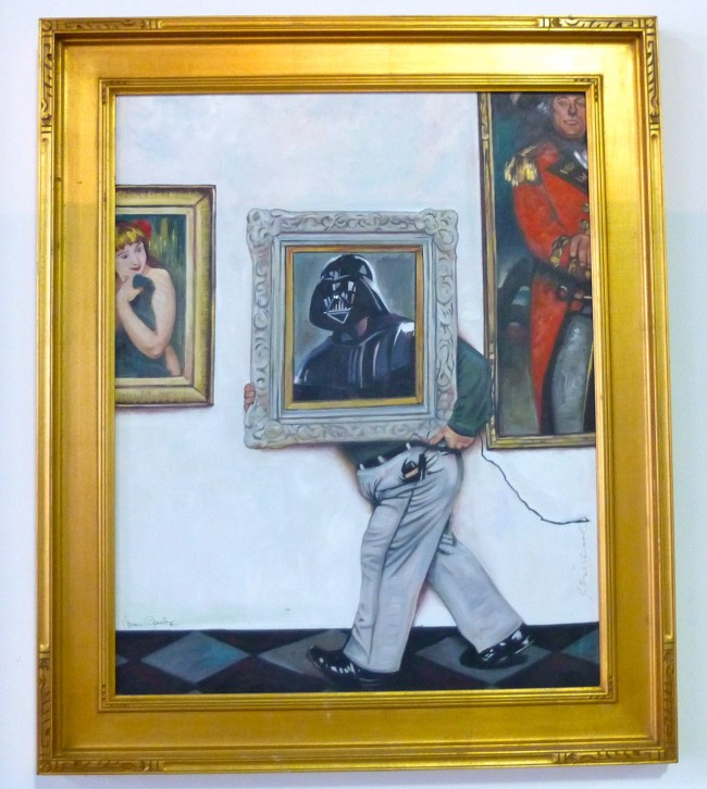 Darth Painting