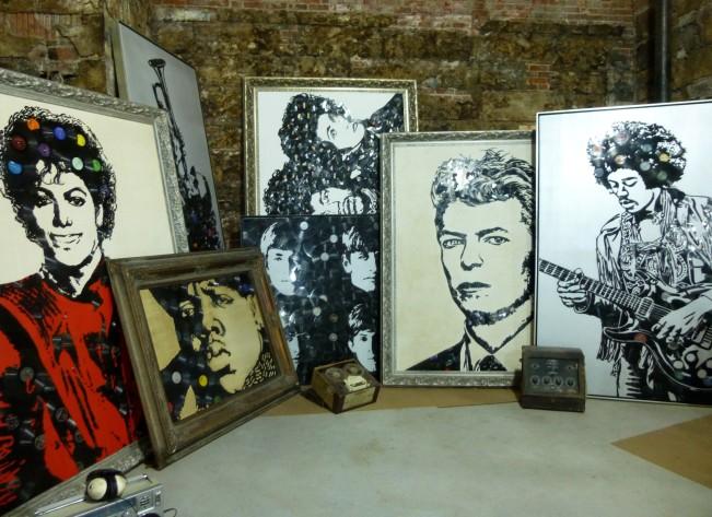 Vinyl Record Portraits