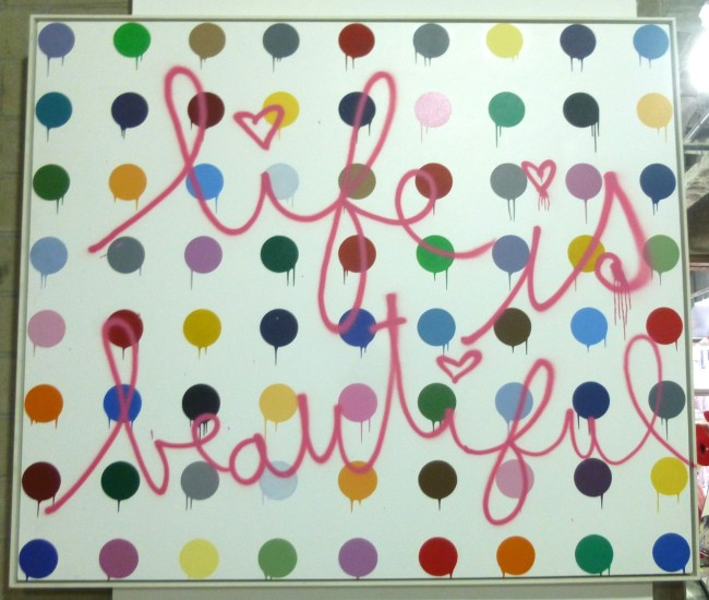Life is Beautiful Hirst