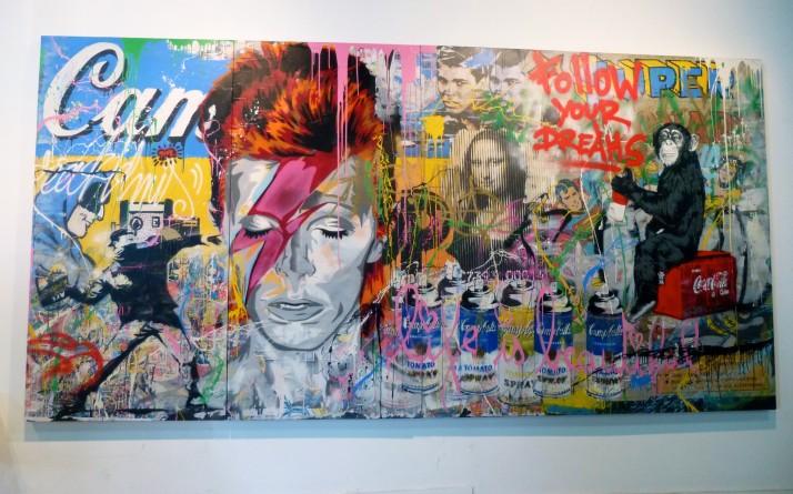 Brainwash Bowie Mural