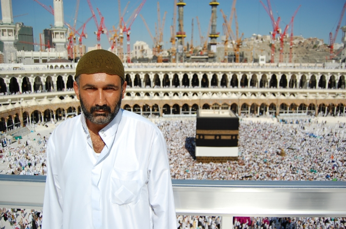 Parvez at Mecca