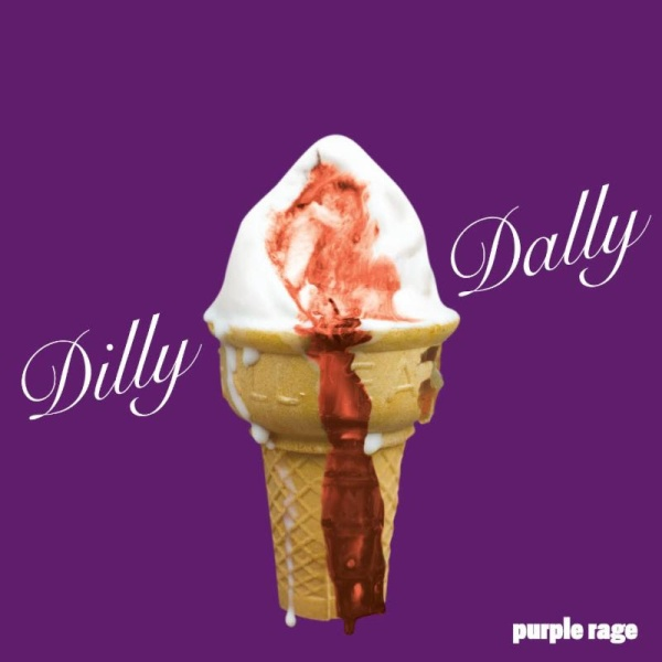 Dilly Dally Purple Rage Ice Cream
