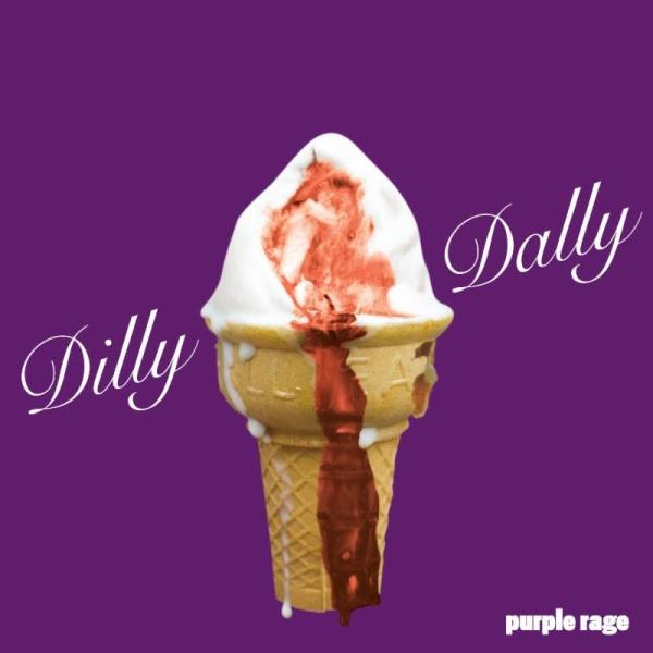 Dilly Dally Purple Rage Ice Cream