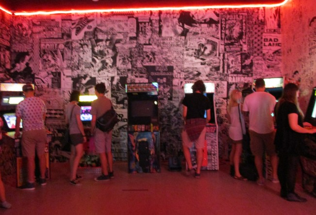 Arcade Installation View