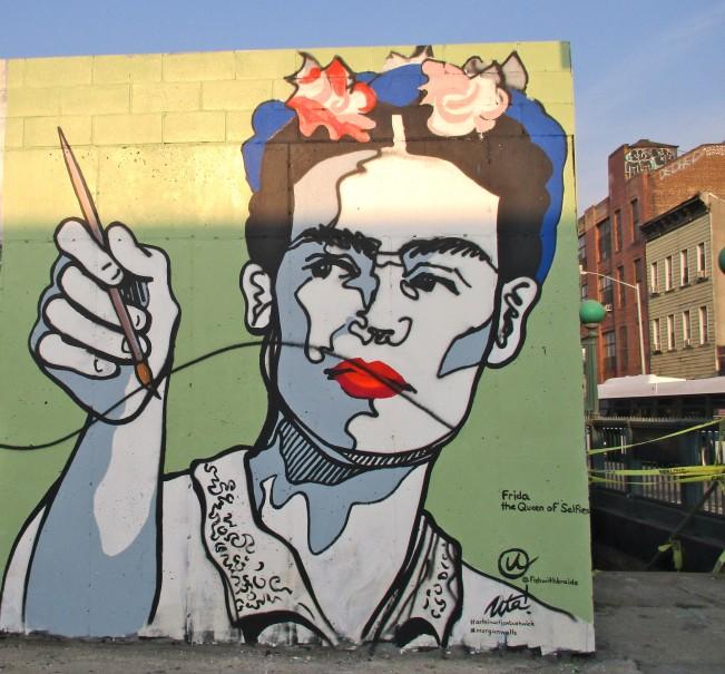 Frida Kahlo Mural, Bushwick