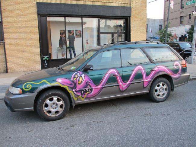 Kenny Scharf Car 1