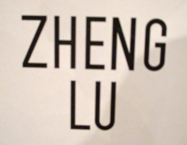 Zheng Lu Signage