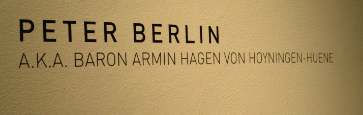 Peter Berlin Signage