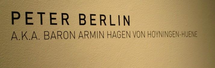 Peter Berlin Signage