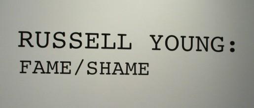 Fame Shame Signage