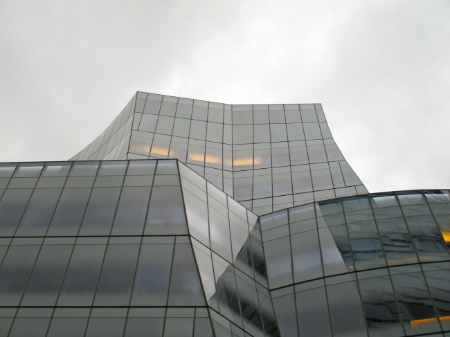 IAC Building 19th Street Side, Late September 2015