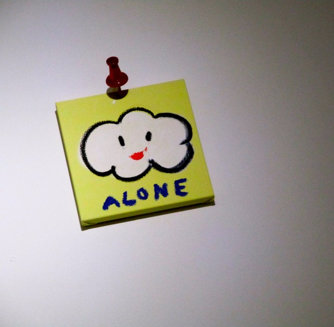 Post it Note Alone