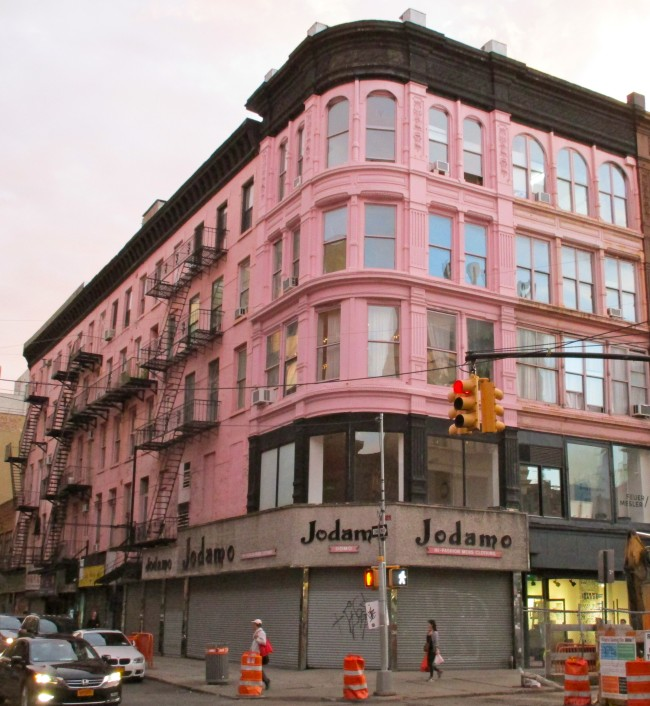 The Pink Building