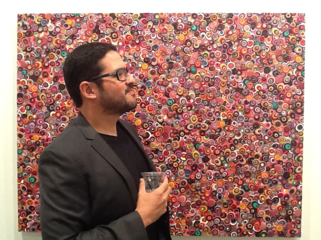 Omar Chacon and Painting