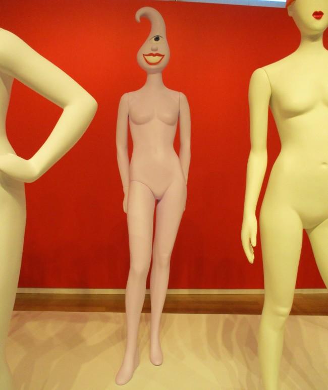 Kenny Scharf Mannequin