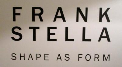 Frank Stella Signage