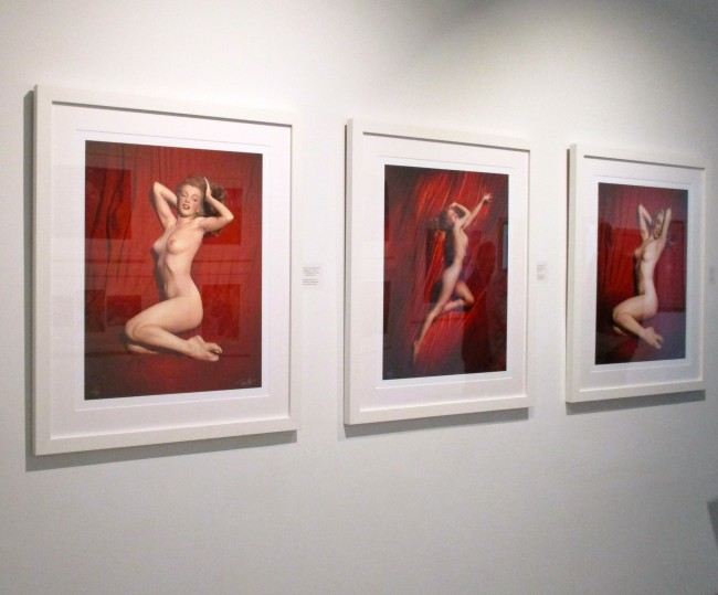 Marilyn Monroe Red Velvet Series