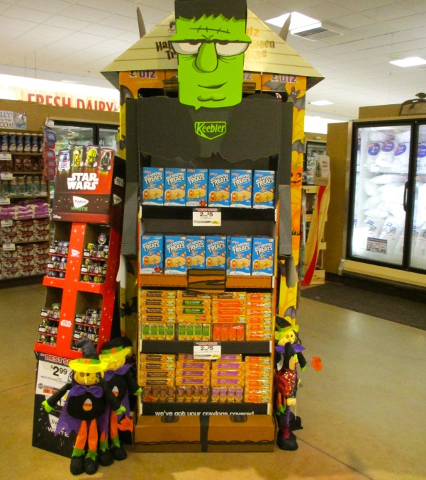 Frankenstein Keebler Display