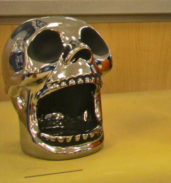 Skull Pot Scrubber Holder