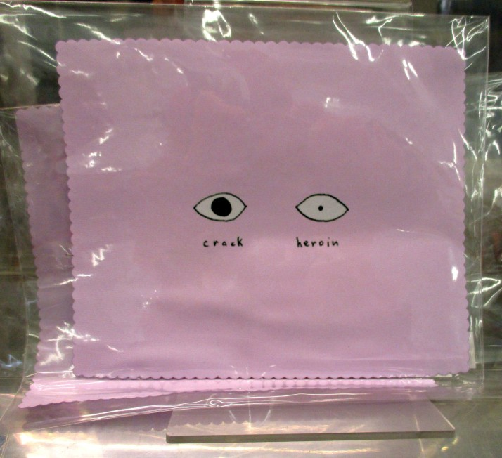 David Shrigley Eyeglass Cleaning Cloth