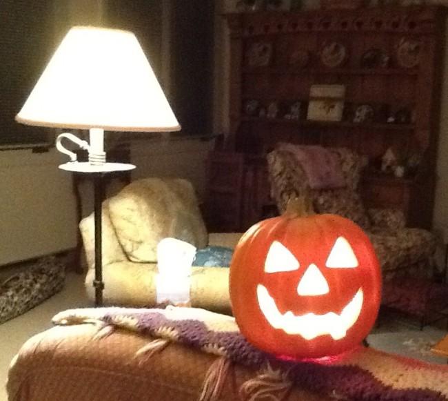 Jack O Lantern Lamp