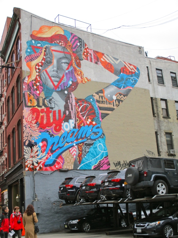 Big City of Dreams by Tristan Eaton
